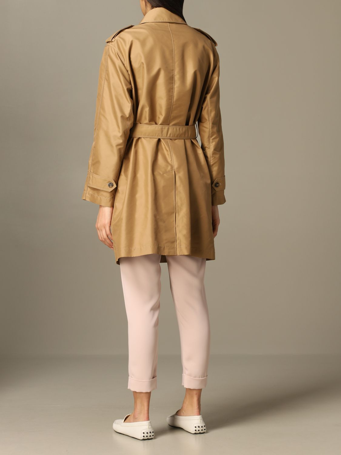 Classic Fay coat with frog biscuit 2
