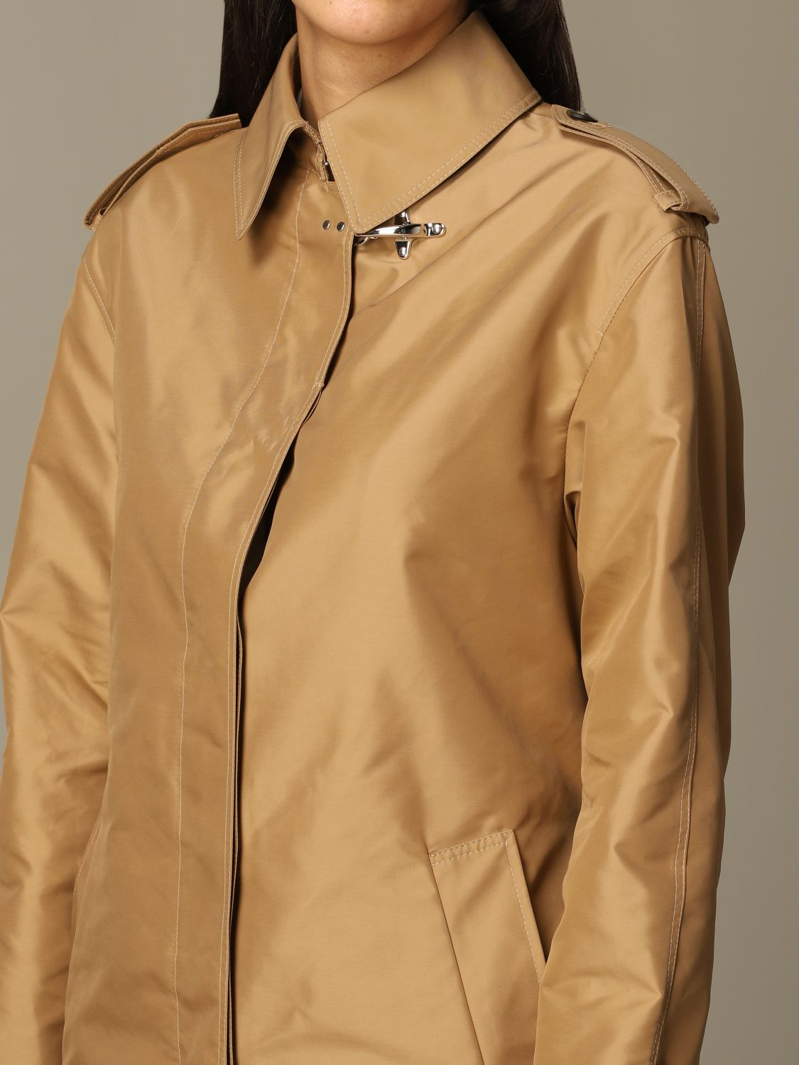 Classic Fay coat with frog biscuit 3