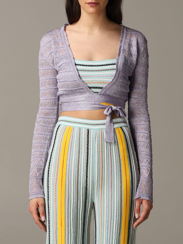 Pullover damen M Missoni lila 1