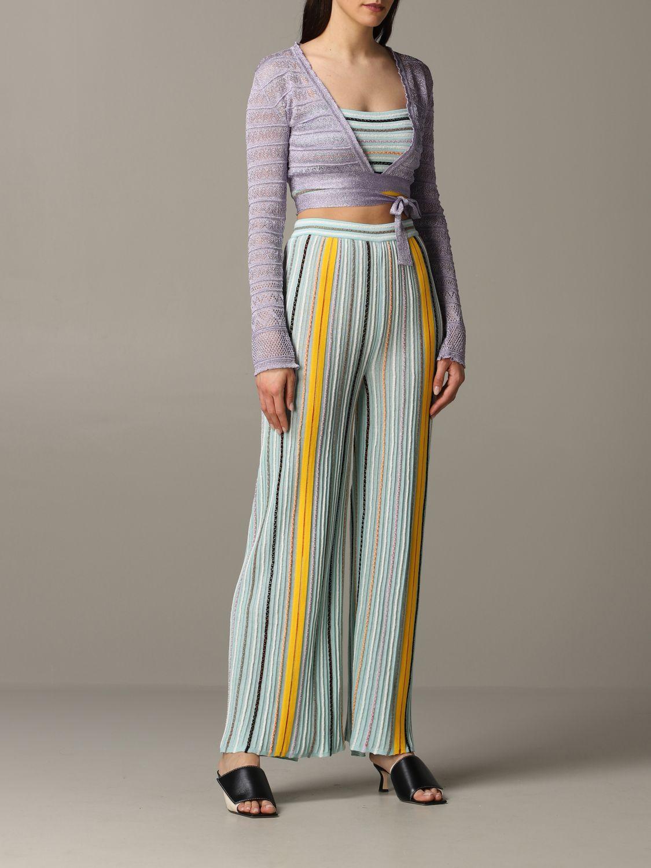 Pullover damen M Missoni lila 2