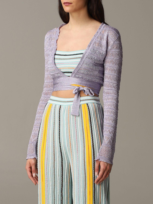 Pullover damen M Missoni lila 3
