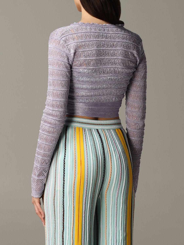 Pullover damen M Missoni lila 4