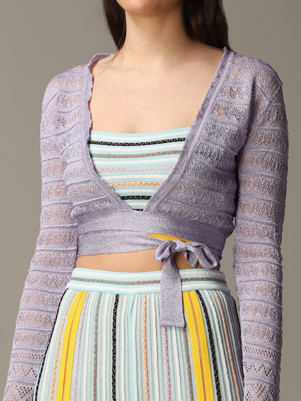 Pullover damen M Missoni lila 5