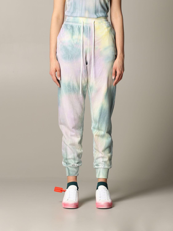 Pantalone jogging M Missoni stampato azzurro 1