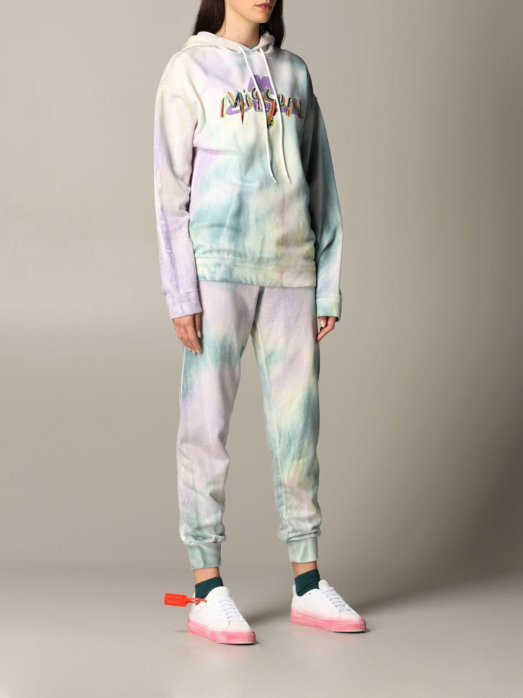 Pantalone jogging M Missoni stampato azzurro 2