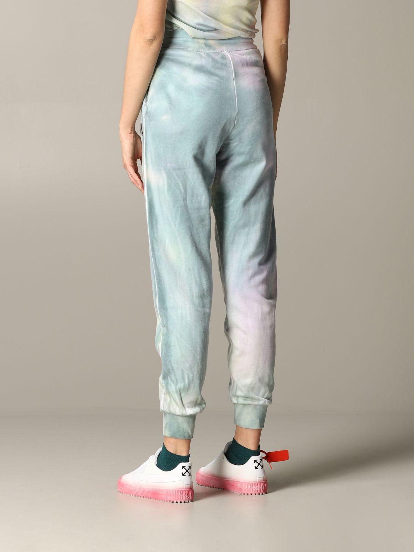 Pantalone jogging M Missoni stampato azzurro 3