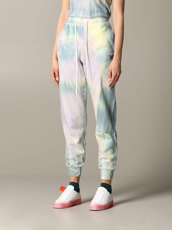 Pantalone jogging M Missoni stampato azzurro 4
