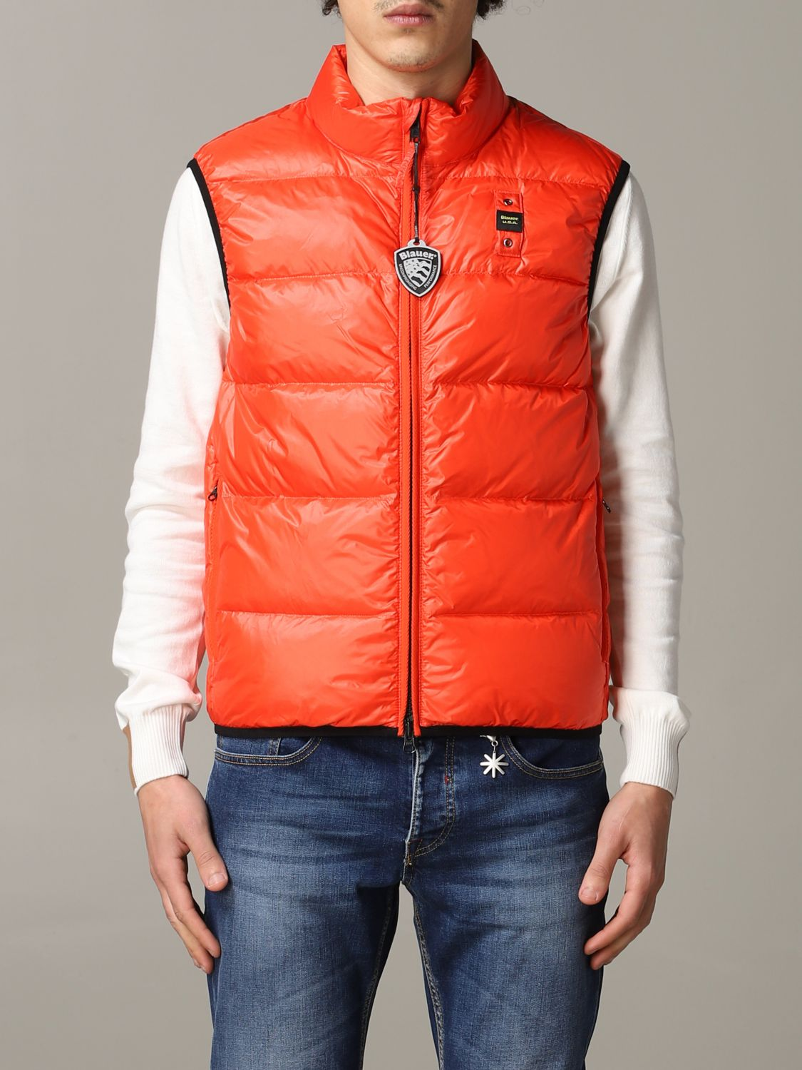 Suit vest Blauer: Suit vest men Blauer orange 1