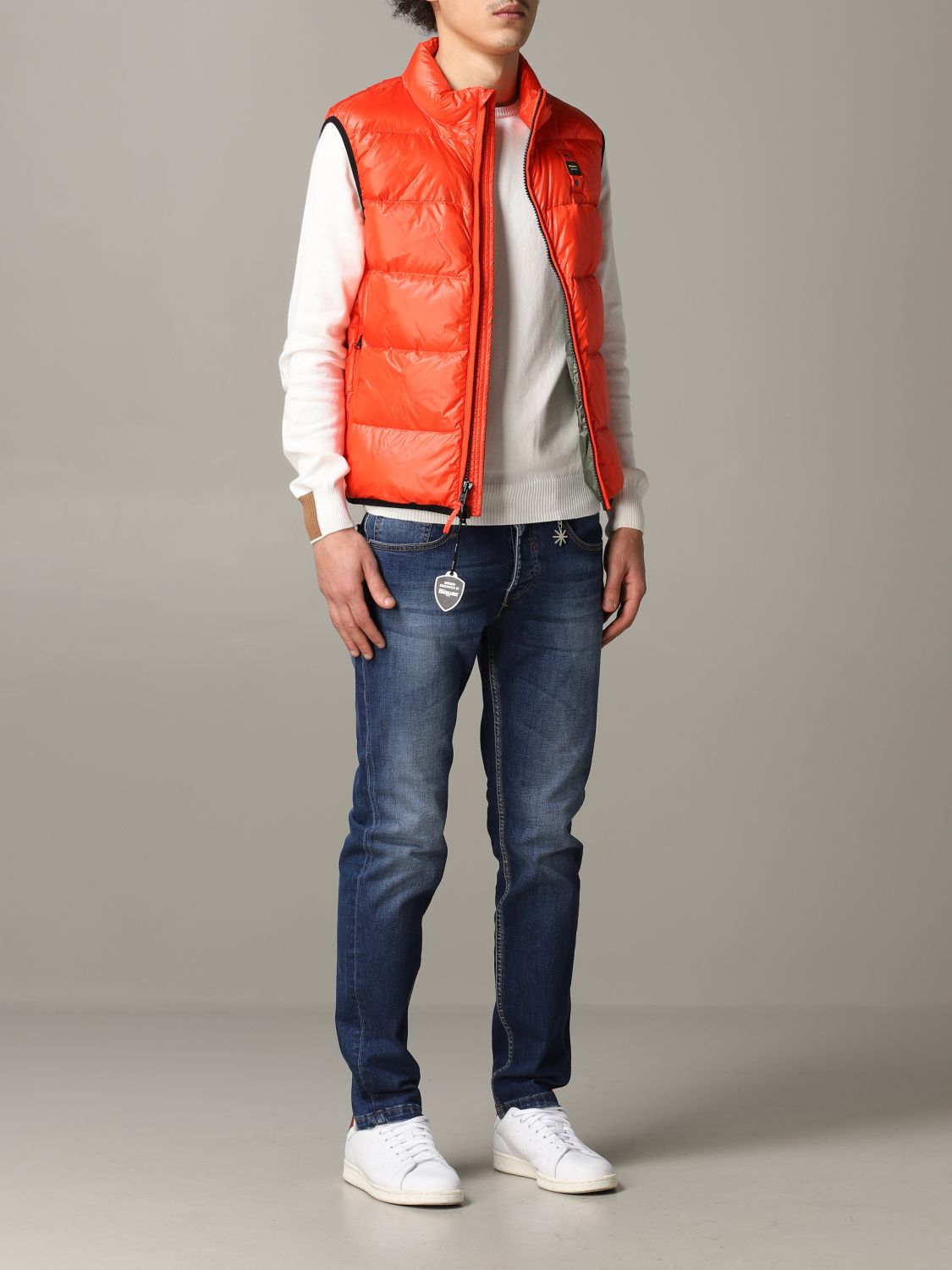 Suit vest Blauer: Suit vest men Blauer orange 2