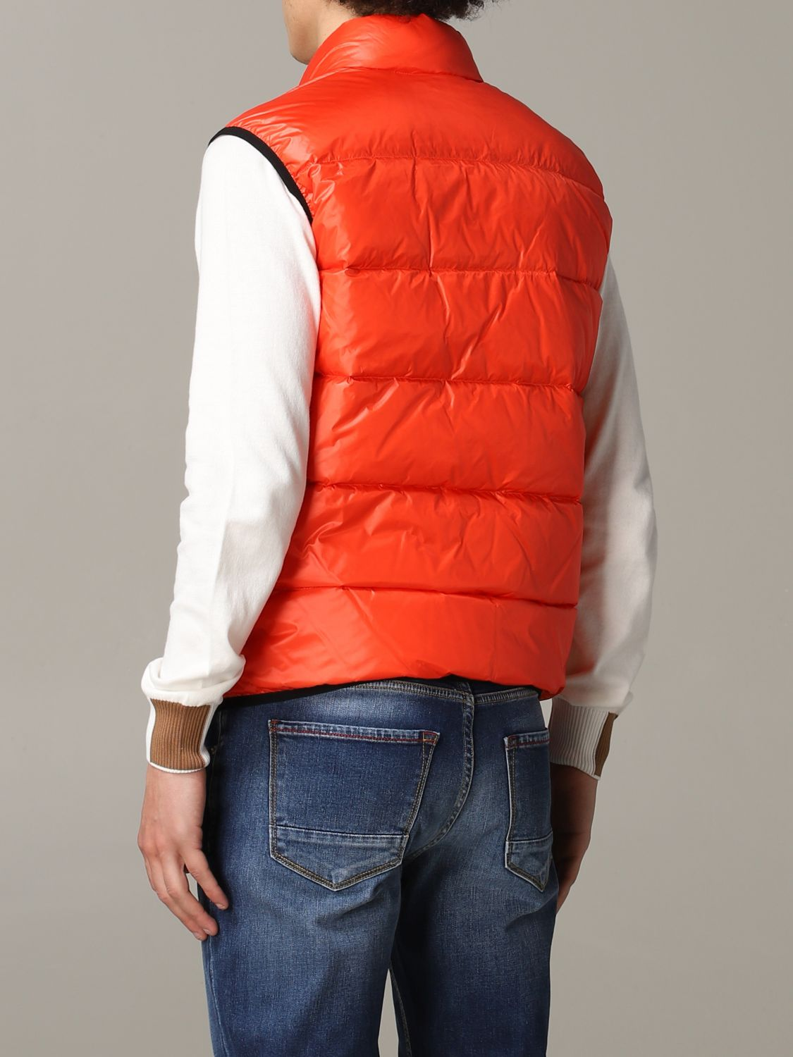 Suit vest Blauer: Suit vest men Blauer orange 3