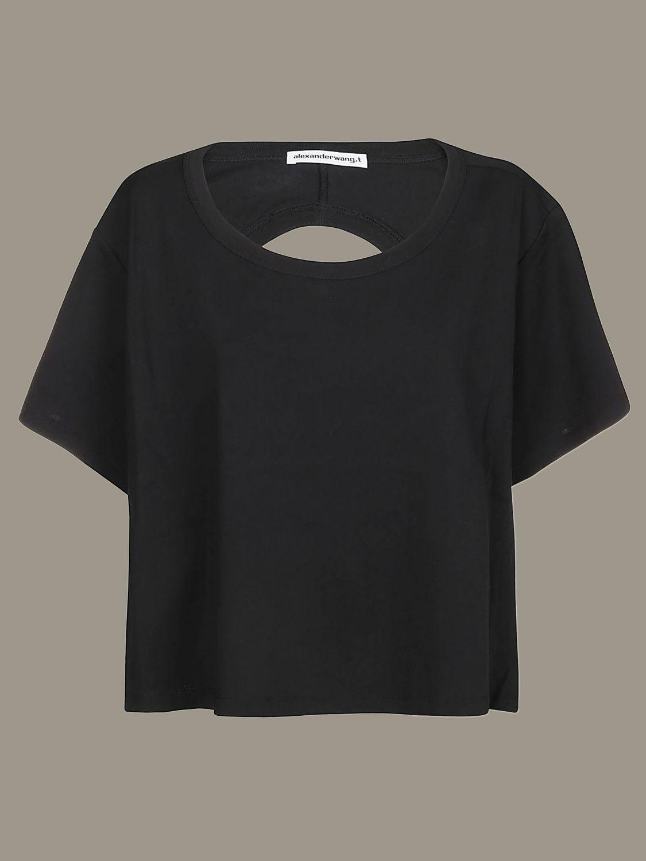 T-shirt women Alexander Wang black 1
