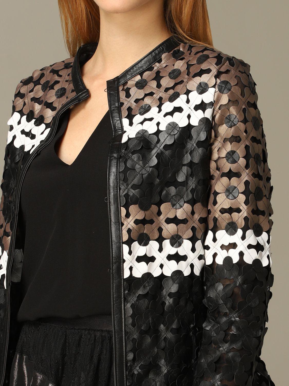 Jacket Caban Romantic: Jacket women Caban Romantic brown 3