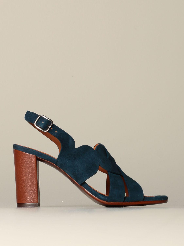 Zapatos de tacón Chie Mihara: Zapatos mujer Chie Mihara azul oscuro 1