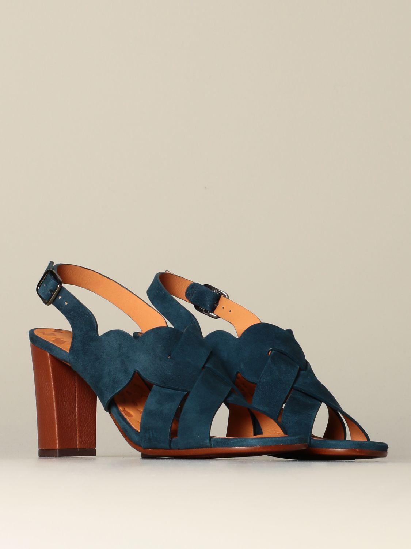 Zapatos de tacón Chie Mihara: Zapatos mujer Chie Mihara azul oscuro 2