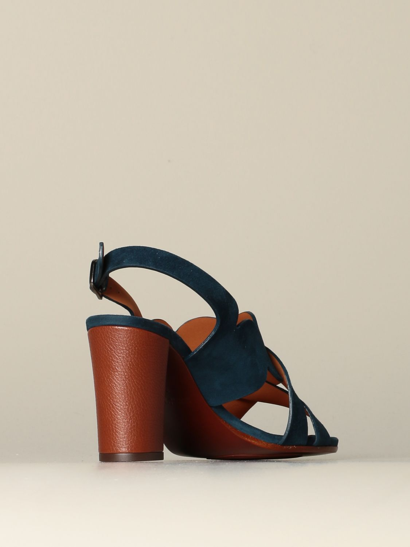 Zapatos de tacón Chie Mihara: Zapatos mujer Chie Mihara azul oscuro 3