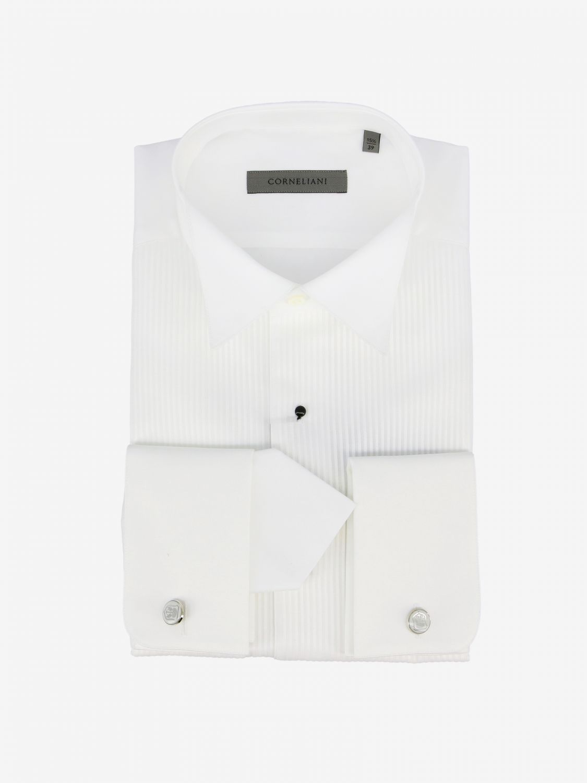 Shirt men Corneliani white 1