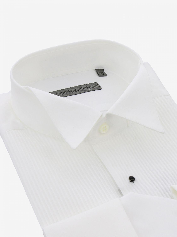 Shirt men Corneliani white 2
