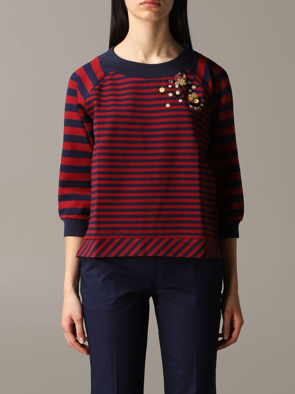 Sweatshirt women My Twin burgundy 1