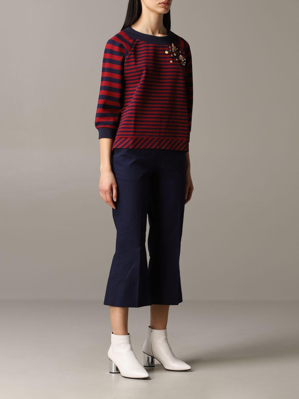 Sweatshirt women My Twin burgundy 2