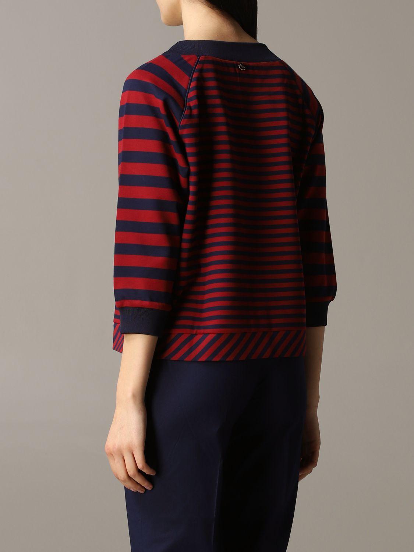 Sweatshirt women My Twin burgundy 3