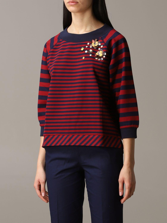 Sweatshirt women My Twin burgundy 4