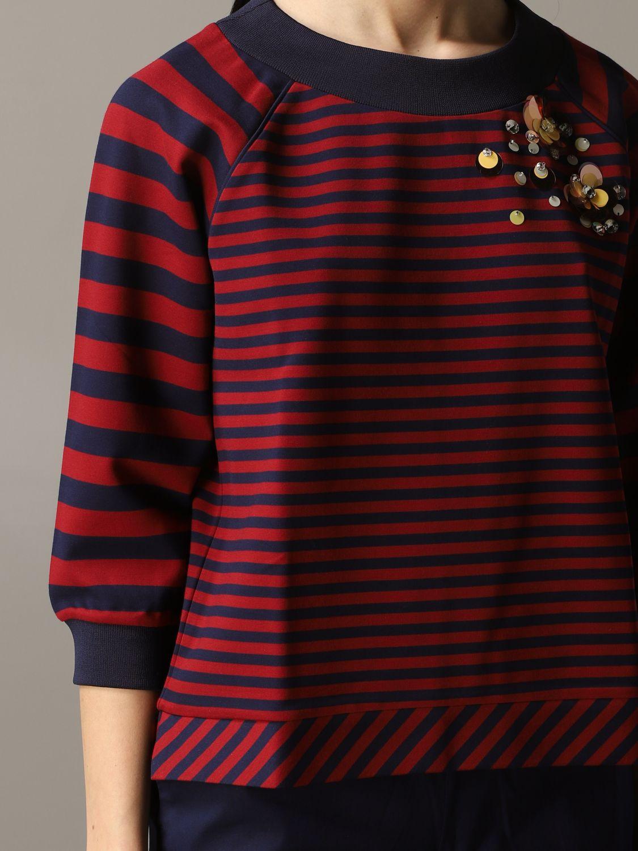 Sweatshirt women My Twin burgundy 5