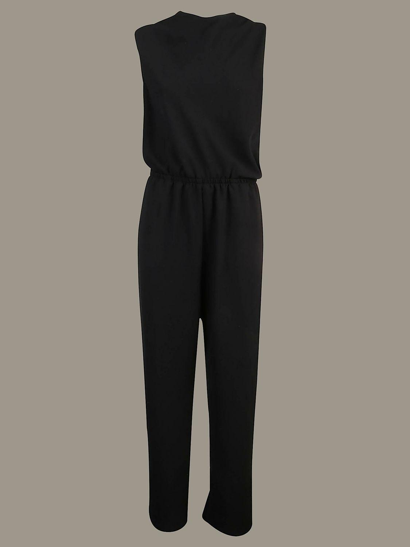 Pinko long sleeveless jumpsuit black 1