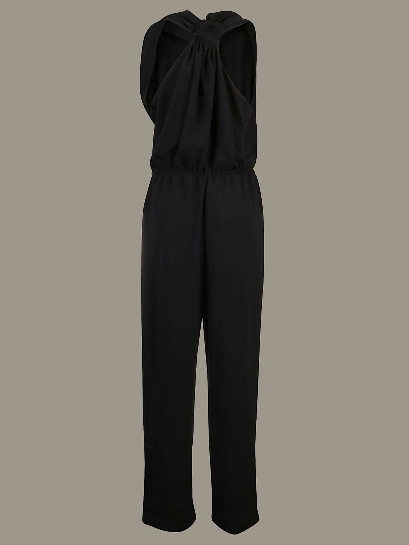 Pinko long sleeveless jumpsuit black 2