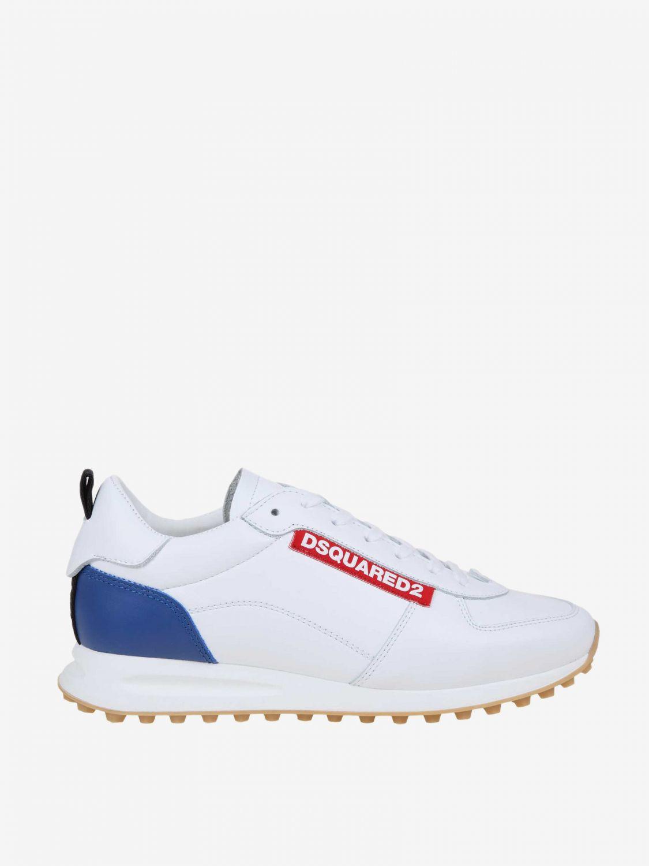 Спортивная обувь Мужское Dsquared2 белый 1