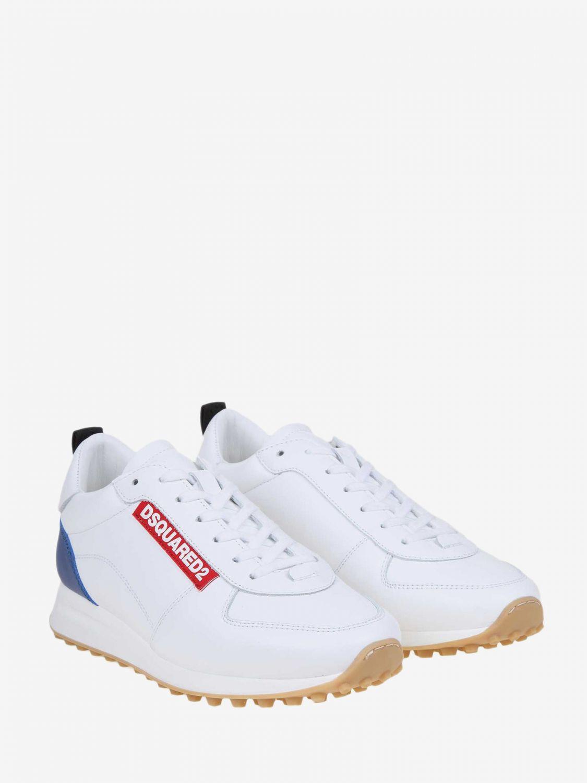 Спортивная обувь Мужское Dsquared2 белый 2