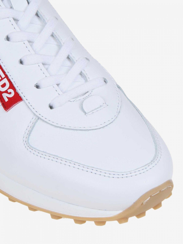 Спортивная обувь Мужское Dsquared2 белый 3
