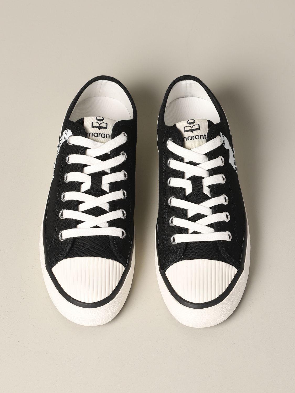 Sneakers damen Isabel Marant schwarz 3