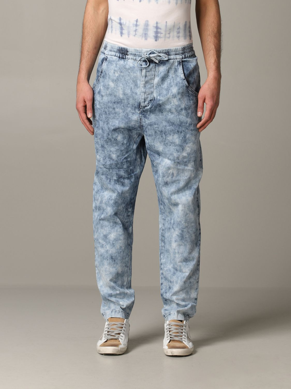 Jeans Isabel Marant in denim armaturato blue 1