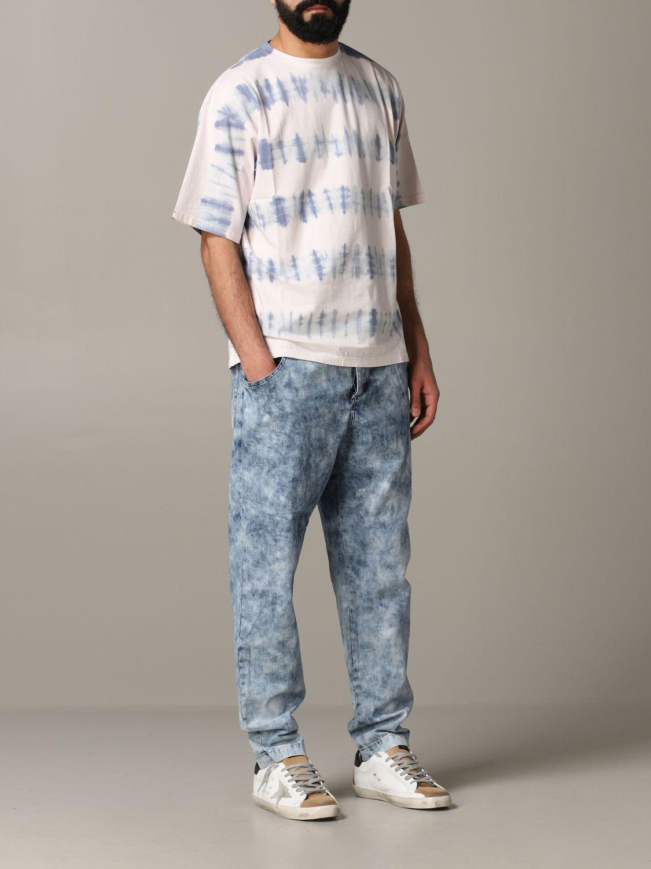 Jeans Isabel Marant in denim armaturato blue 2