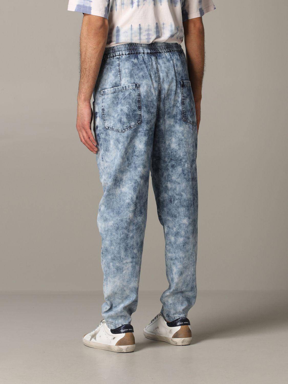 Jeans Isabel Marant in denim armaturato blue 3