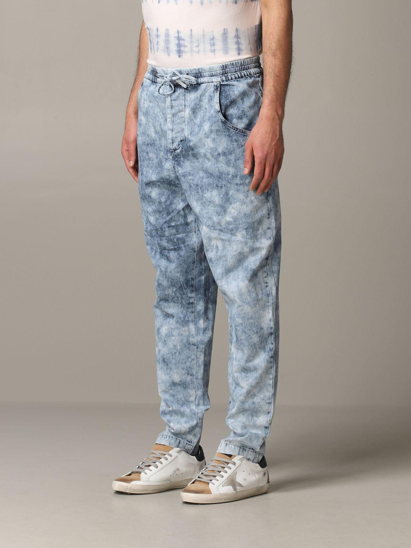 Jeans Isabel Marant in denim armaturato blue 4
