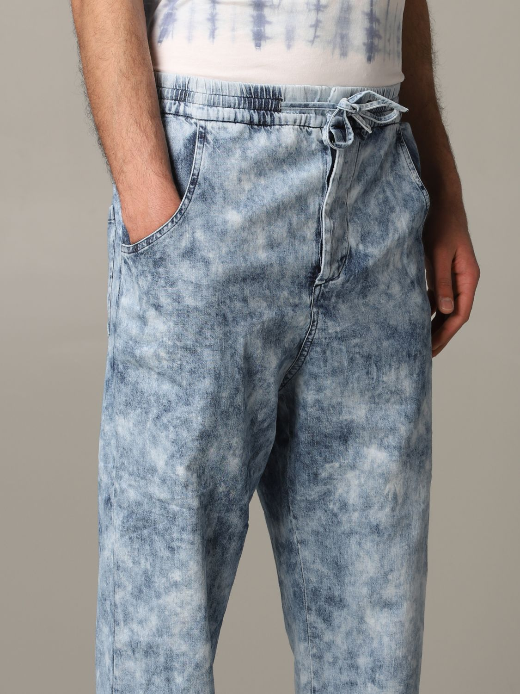 Jeans Isabel Marant in denim armaturato blue 5