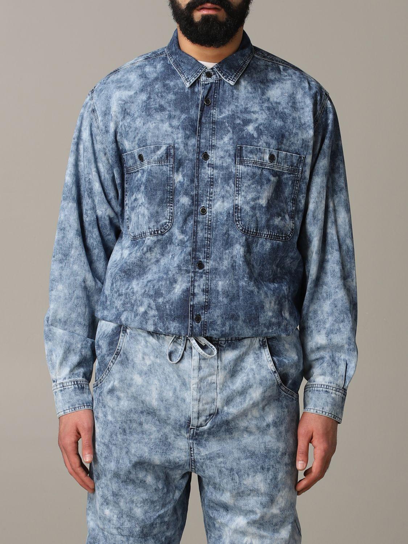 Shirt men Isabel Marant blue 1