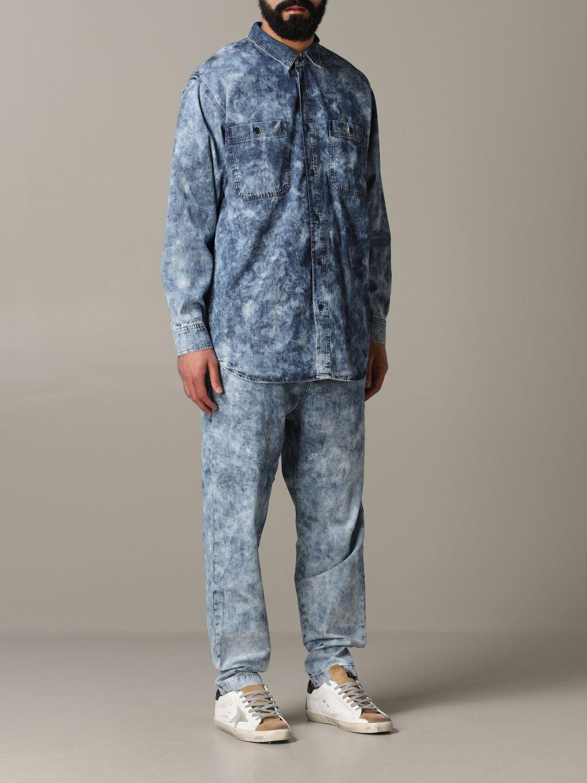 Shirt men Isabel Marant blue 2