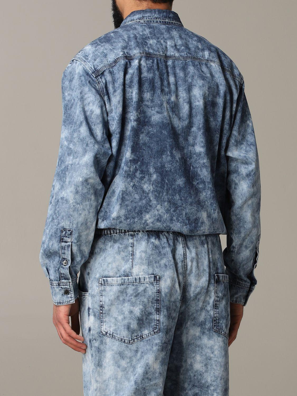 Shirt men Isabel Marant blue 3