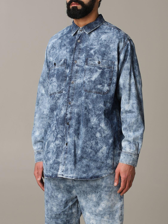 Shirt men Isabel Marant blue 4