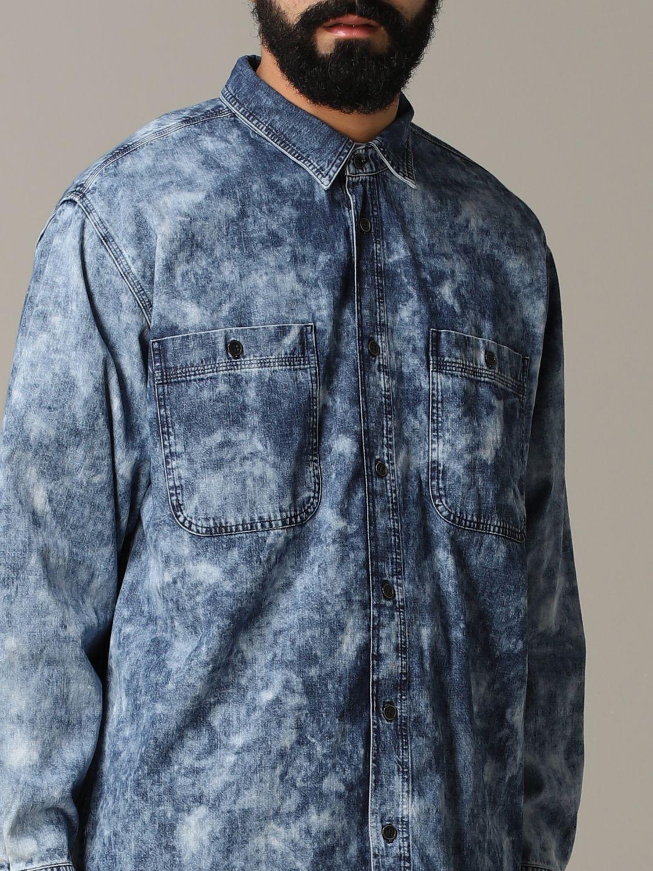 Shirt men Isabel Marant blue 5