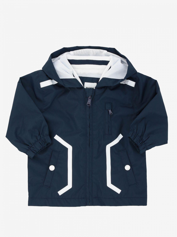 Hugo Boss jacket with hood blue 1