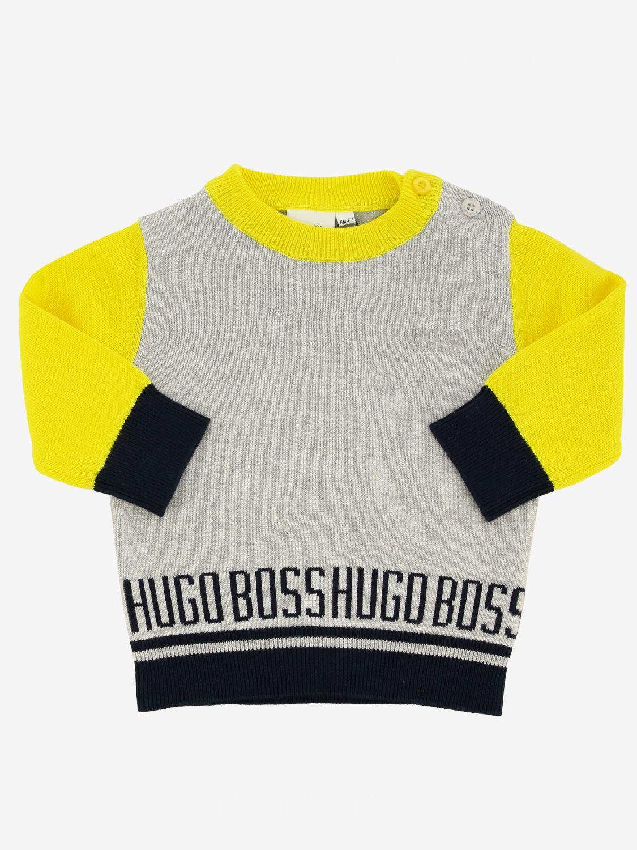 Свитер Детское Hugo Boss серый 1