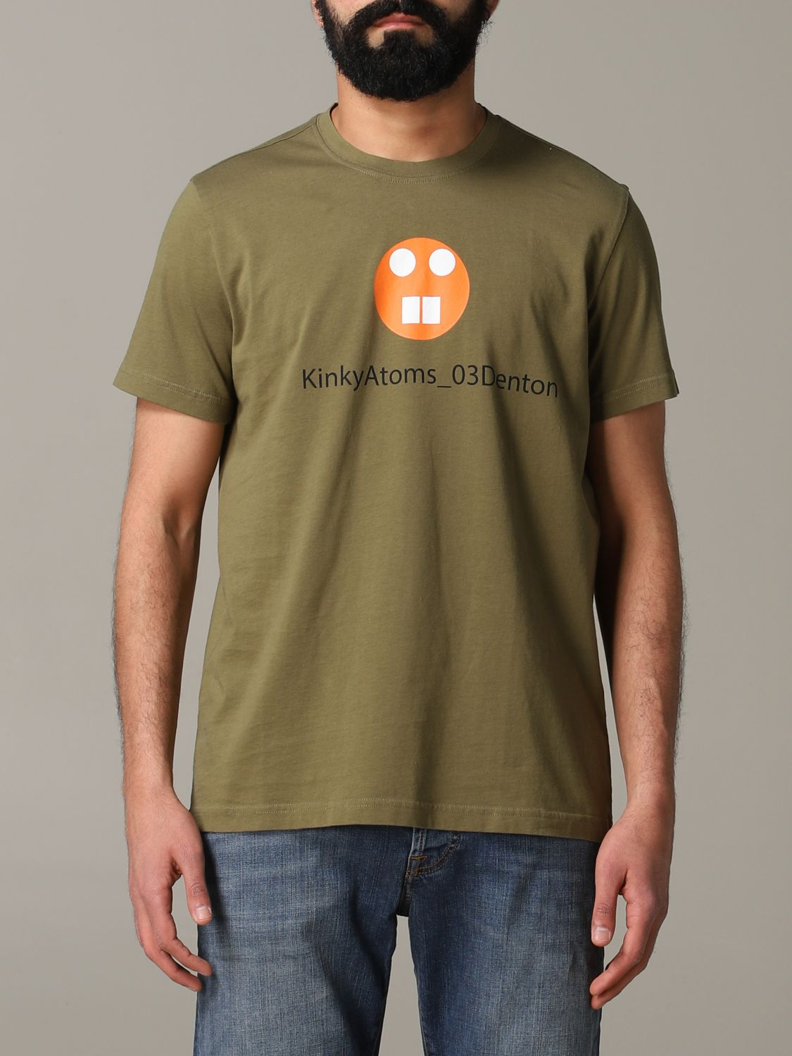 T-shirt Aspesi: T-shirt men Aspesi military 1