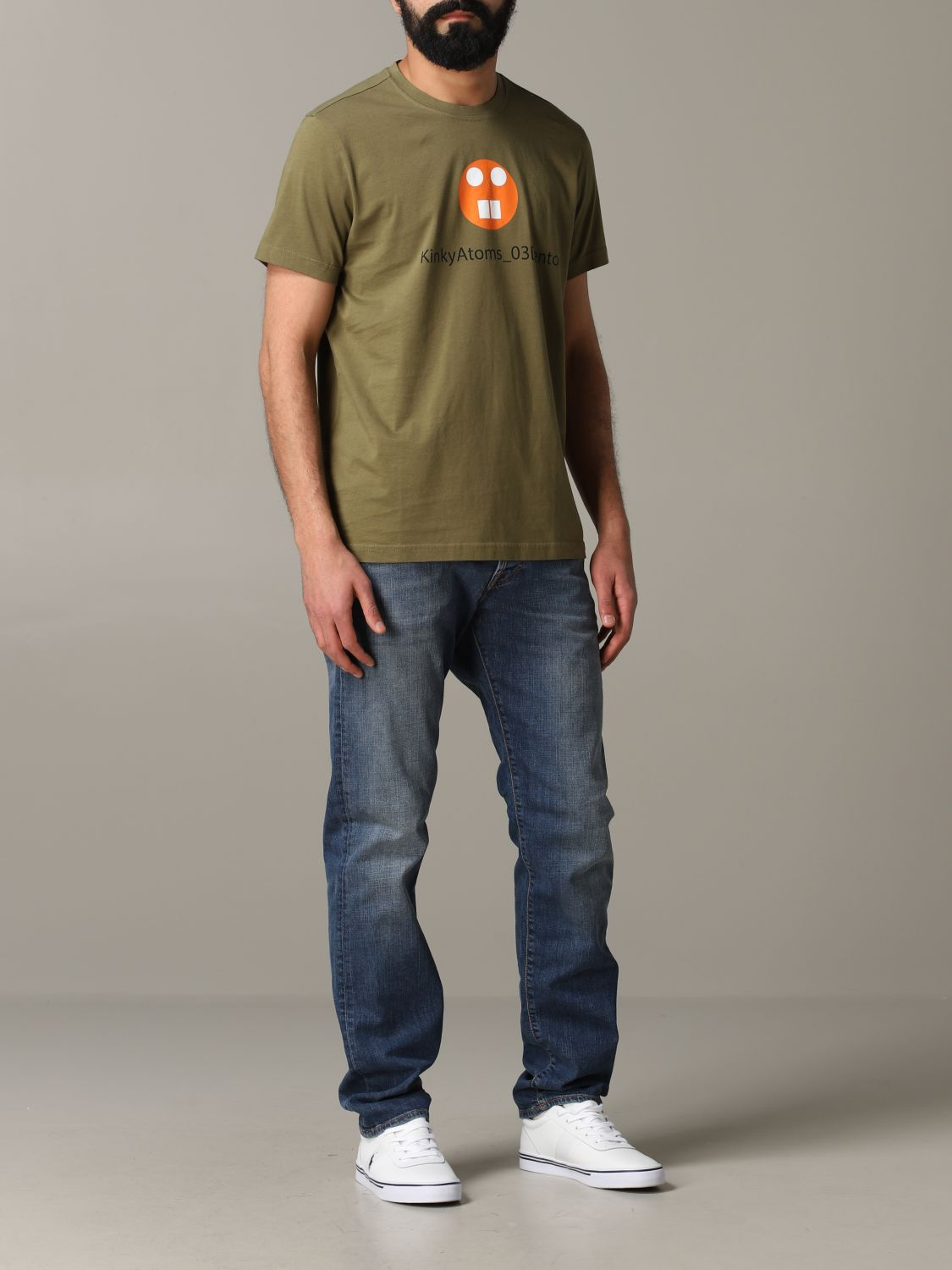 T-shirt Aspesi: T-shirt men Aspesi military 2