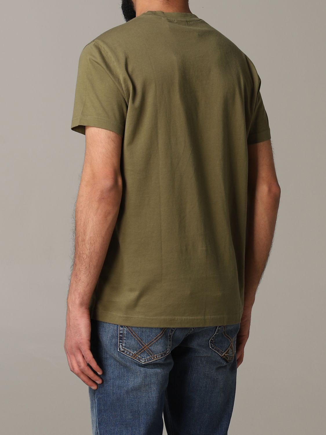T-shirt Aspesi: T-shirt men Aspesi military 3