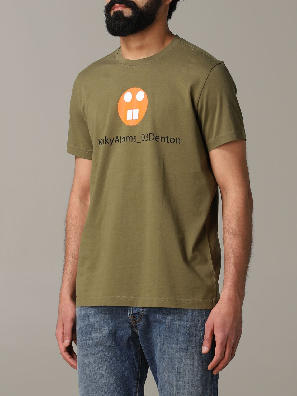 T-shirt Aspesi: T-shirt men Aspesi military 4