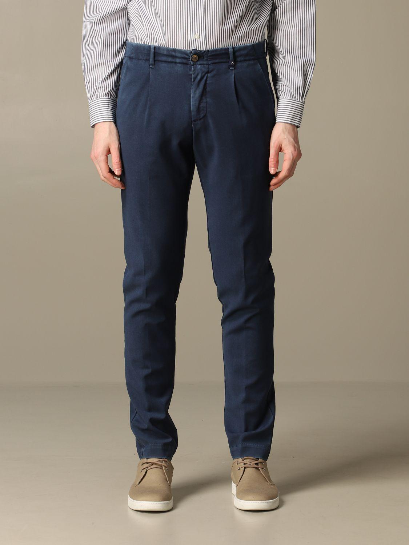 Pantalon Myths: Pantalon homme Myths bleu 1