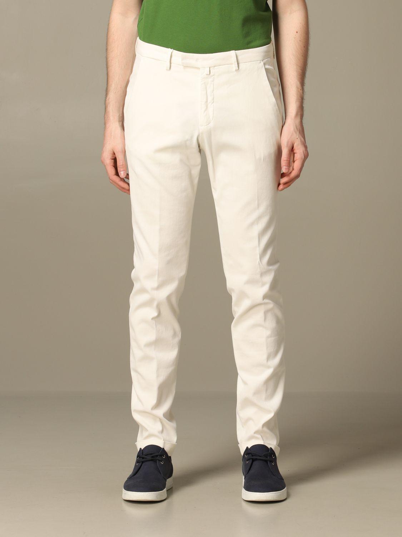 Pantalon homme Briglia blanc 1